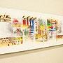 バリ絵画 モダンスタイルアート100×35 26 「バリ絵画『モダンスタイルアート』」