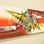 バリ絵画 モダンスタイルアート100×35 27 「」