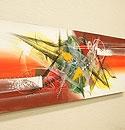 バリ絵画 モダンスタイルアート100×35 27 「バリ絵画『モダンスタイルアート』」