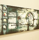 バリ絵画 モダンスタイルアート120×45 24 「バリ絵画『モダンスタイルアート』」