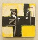 バリ絵画 モダンスタイルアート30×30 01 「バリ絵画『モダンスタイルアート』」
