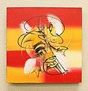 バリ絵画 モダンスタイルアート30×30 04 「バリ絵画『モダンスタイルアート』」