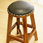チークウッド スツール B 「スツール&ベンチ『アジアン家具』」