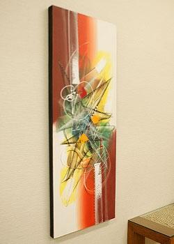 バリ 絵画 アートパネル