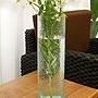 バリガラス フラワーベース クラック ラウンド Lサイズ 「フラワーベース」