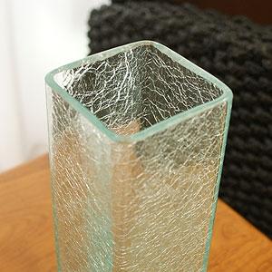 アジアンインテリア ガラス 花瓶 おしゃれ 大きい