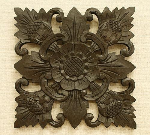 木製 レリーフ 壁掛け アート